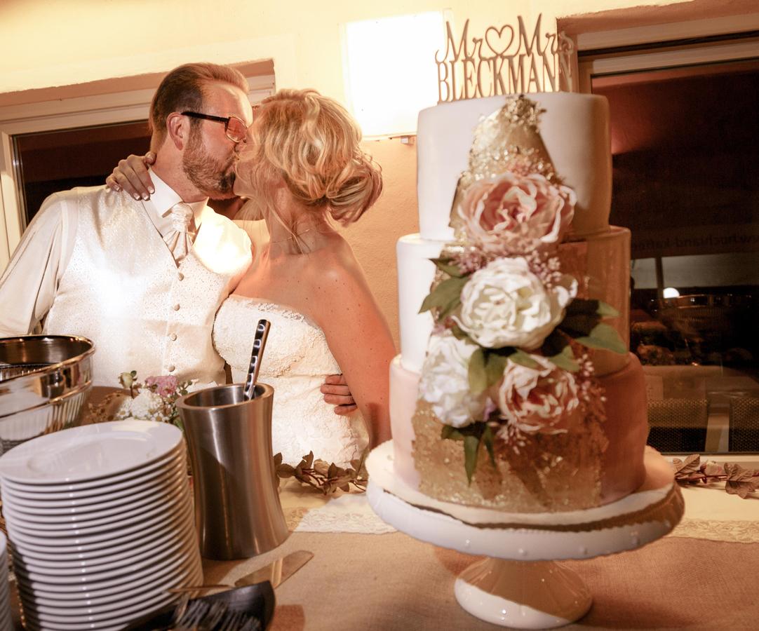 Diy Hochzeitstorte Elfenweiss