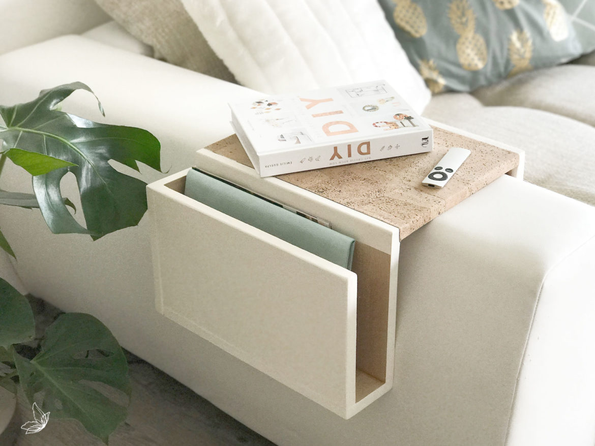 DIY Sofa Tablett | elfenweiss