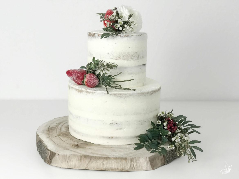 Naked Cake Rezept Einfach Wunderschön Elfenweiss