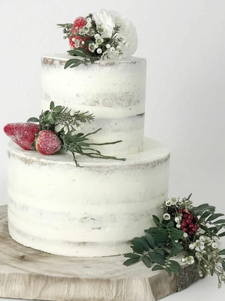 Naked Cake Rezept Einfach Wunderschon Elfenweiss