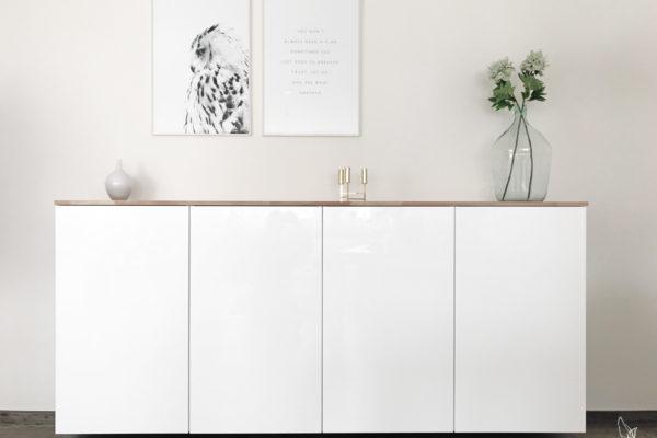 diy vintage buffet in kreideweiss elfenweiss. Black Bedroom Furniture Sets. Home Design Ideas