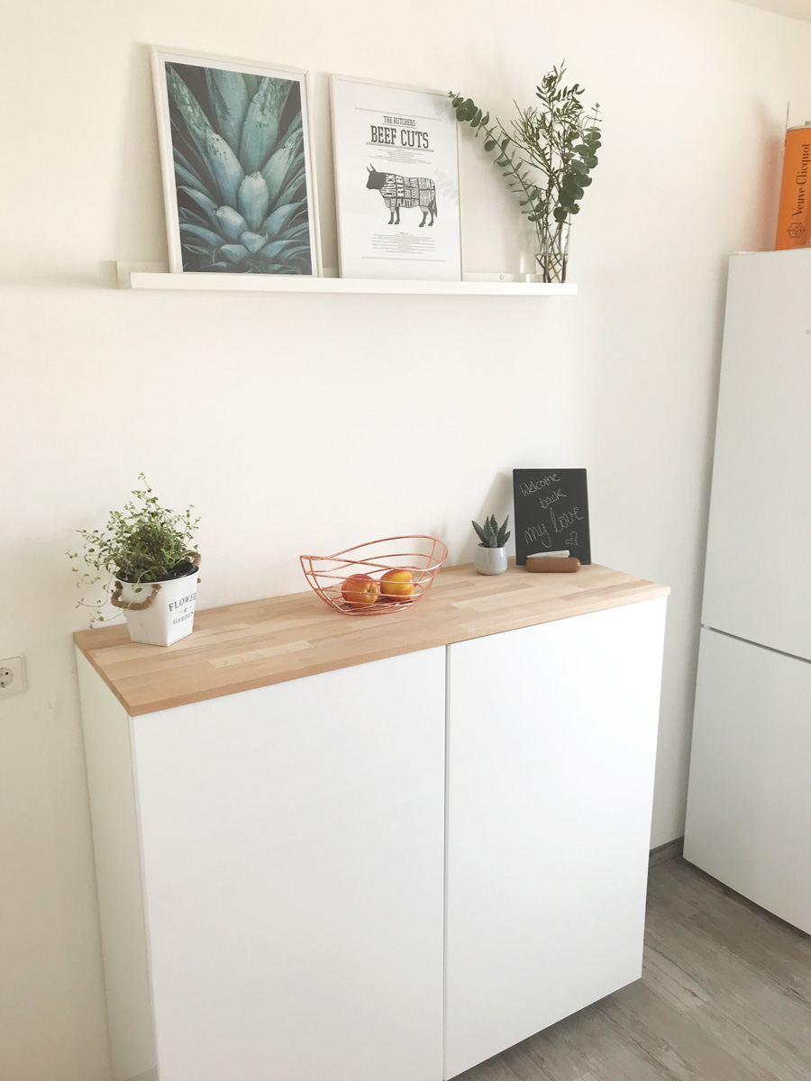 ikea hack metod wandschrank als sideboard teil ii elfenweiss. Black Bedroom Furniture Sets. Home Design Ideas
