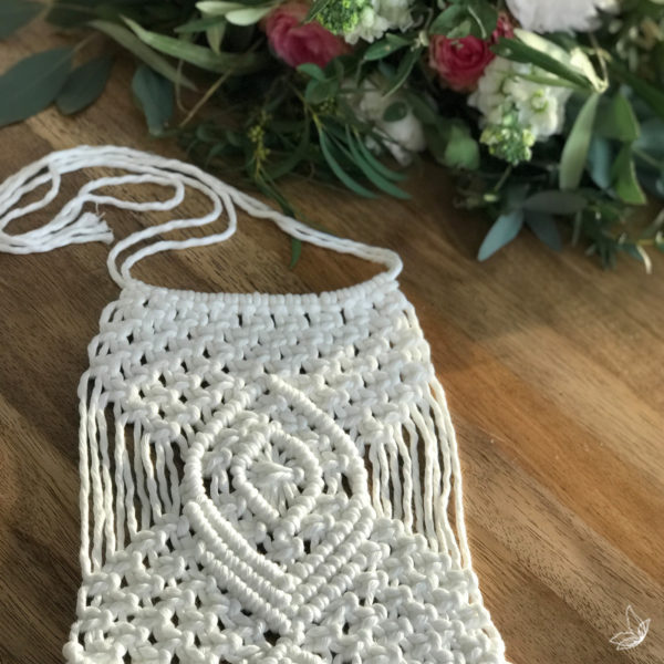 Bouquet wrap, Boho Wedding