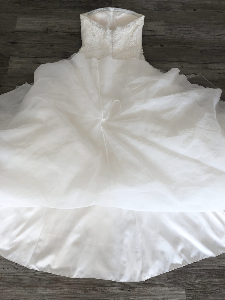 Kleid selber waschen