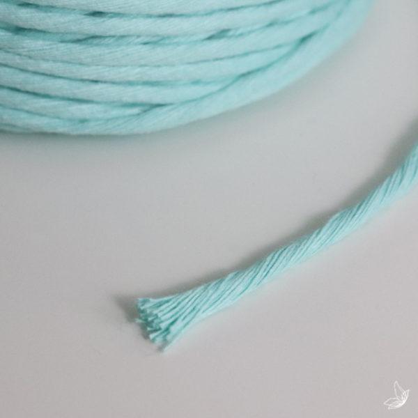 Macrame Garn Makrameegarn Cord Rope single twist Makramee Macrame Kordel