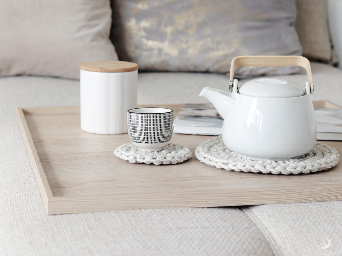 DIY Couch-Tablett Sofatablett Holztablett Tablett Doityourself Holz-DIYInterior Wood tray desgin table tray